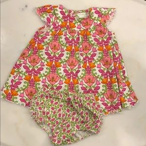 Vera Bradley Floral Dress and Bloomers.